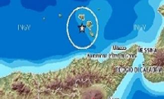 Terremoto: scossa di magnitudo 4.2 al largo delle isole Eolie
