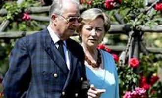 Famiglia reale del Belgio in visita a Selinunte