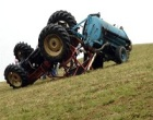 Incidente col trattore: uomo in prognosi riservata