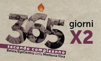 Gibellina: 365X2, secondo compleanno Belìce/Epicentro della memoria viva