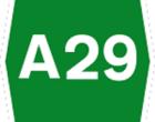 A29 chiusa per intervento artificieri su auto sospetta