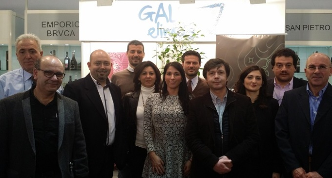 Ampio successo dello stand espositivo del Gal Elimos al «ProWein 2015» di Düsseldorf