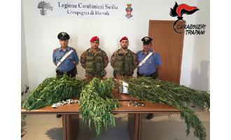 Marsala e Petrosino: 2 arresti per detenzione ai fini di spaccio di sostanze stupefacenti