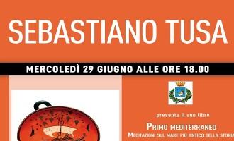 """Marsala: oggi Sebastiano Tusa presenta il suo libro """"Primo Mediterraneo"""""""