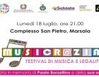 Marsala, Musicr@zia: un festival di musica e legalità per i ragazzi dai 14 ai 19 anni