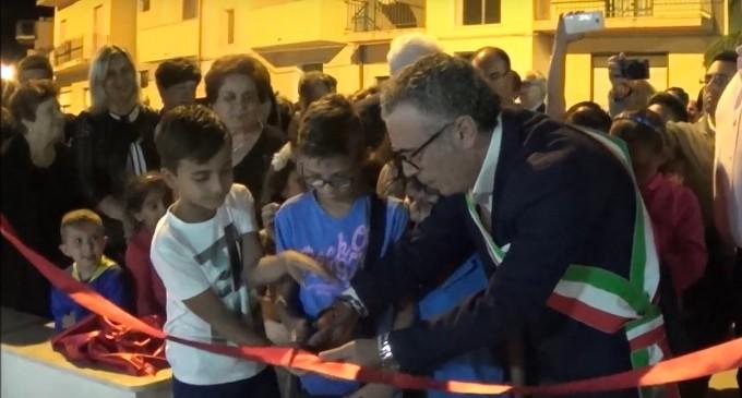 """[VIDEO] Partanna: inaugurazione del Parco Giochi """"Largo Melchiorre Scalia"""""""