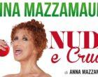 "Marsala: Anna Mazzamauro ""Nuda e Cruda"" apre BaluArte al Teatro ""Sollima"""