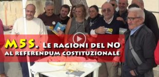 [VIDEO] M5S – Le Ragioni del NO al referendum costituzionale