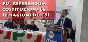 [VIDEO] Referendum costituzionale, le ragioni del SI – PD Sezione di Partanna