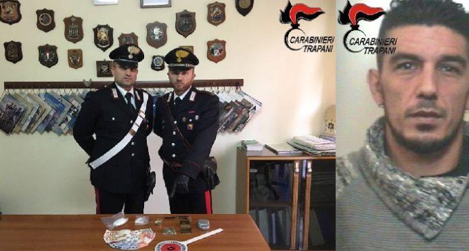 Castellammare: arrestato dai Carabinieri spacciatore