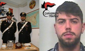 Mazara: arrestato spacciatore e denunciate tre persone