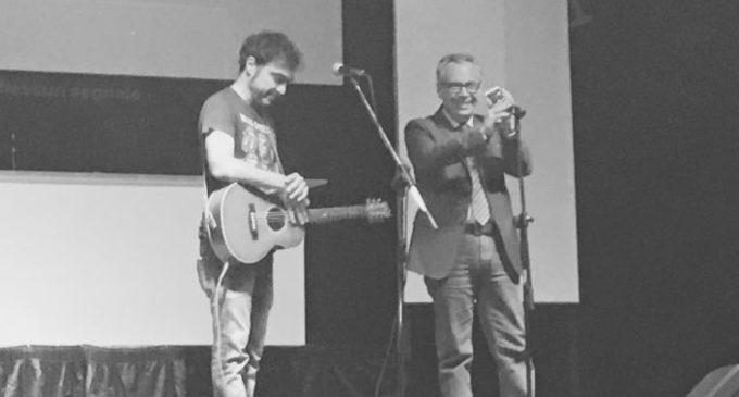 Partanna, intervista a Marco Ligabue: la musica per riflettere