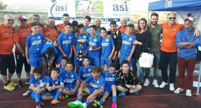 Gli esordienti della Belice Sport sono campioni interprovinciali del campionato ASI 2016/2017