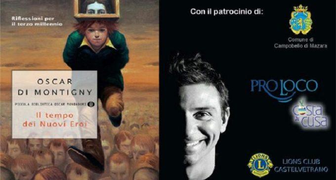 """Tre Fontane, giovedì la presentazione del libro """"Il tempo dei nuovi eroi"""" di Oscar Di Montigny"""