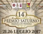 Salemi, Premio Saturno: dal 21 al 26 luglio numerosi importanti ospiti