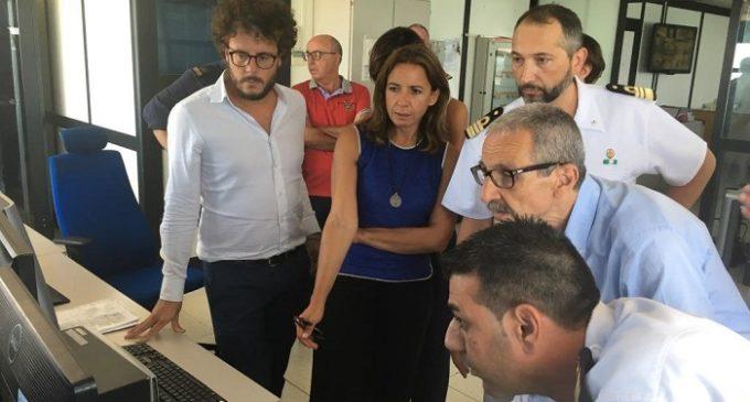 Il Procuratore della Repubblica in visita alla Capitaneria di Porto: apprezzamenti per l'organizzazione e il lavoro svolto