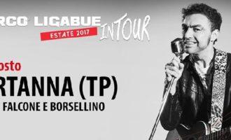 Marco Ligabue in concerto. Il tour fa tappa a Partanna