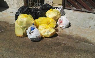 Castelvetrano, ancora rifiuti in strada. L'appello del Tdm alle garanzie di igiene
