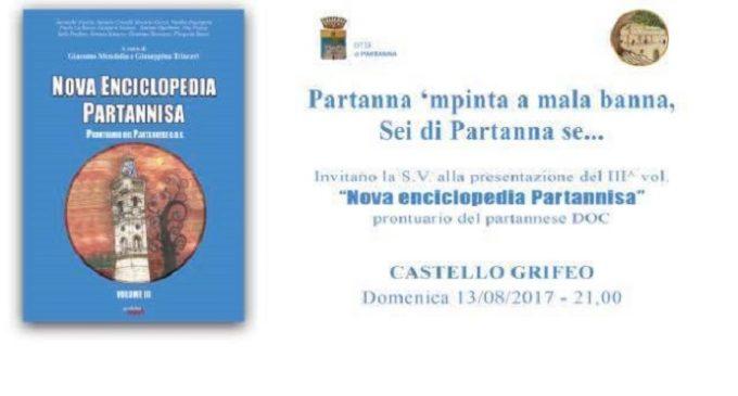 """Partanna, stasera la presentazione della """"Nova enciclopedia partannisa"""": immagini e memoria della città"""