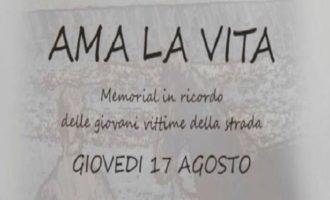 """Tre Fontane, domani """"Ama la vita"""". Memorial in ricordo di tutte le giovani vittime della strada"""