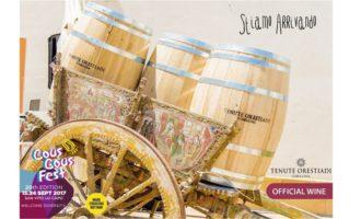 Tenute Orestiadi Official Wine Sponsor del ventesimo CousCousFest di San Vito Lo Capo