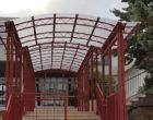 """Santa Ninfa, pensilina contro le piogge alla scuola elementare """"Rosmini"""""""