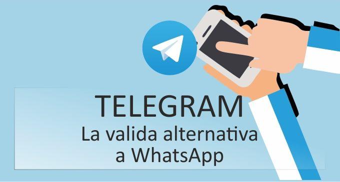 Telegram, una valida alternativa a WhatsApp