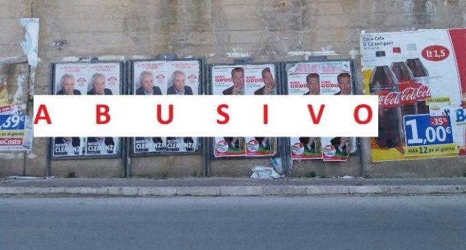 """M5S Salemi, manifesti abusivi. Saladino: """"Propensione dei candidati a non rispettare le regole"""""""