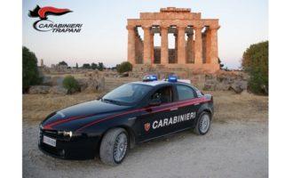 Controlli carabinieri a largo raggio:  tra Castelvetrano e Partanna 1 arresto e 4 denunce