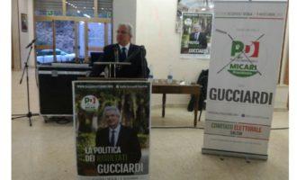 """Apertura campagna elettorale, Gucciardi: """"Rappresentante senza barricate"""""""