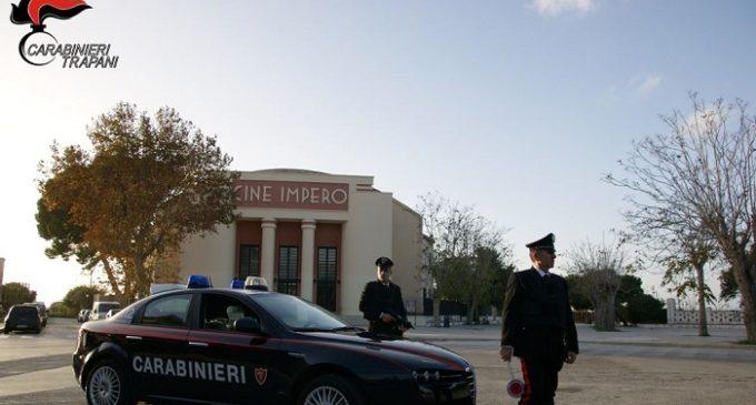 Marsala, controlli a tappeto dei Carabinieri. Cinque denunciati