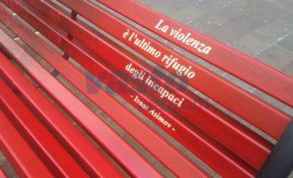 Salemi: una panchina rossa contro il femminicidio, sabato l'iniziativa della Fidapa