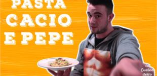 La Cucina dello Studente: Pasta cacio e pepe (VIDEO)