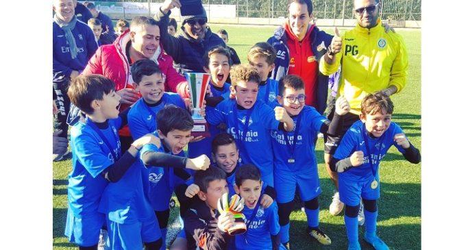 """La """"Belice sport Partanna"""" trionfa con i Pulcini misti alla """"Coppa del Mediterraneo"""" a Marsala"""