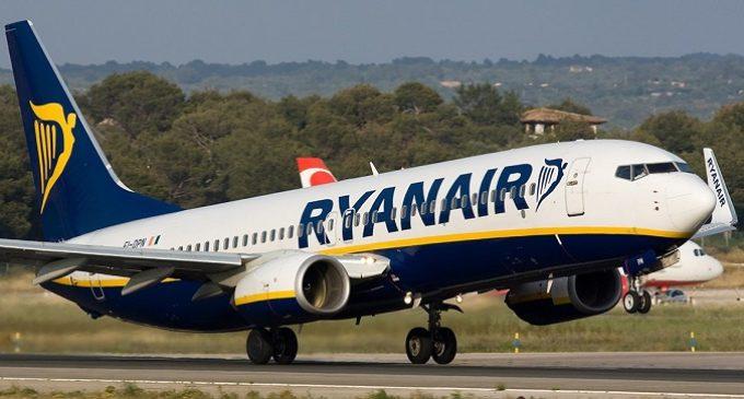 Ryanair, 500 mila voli a a 9,99 euro. Oggi l'ultimo giorno per prenotare
