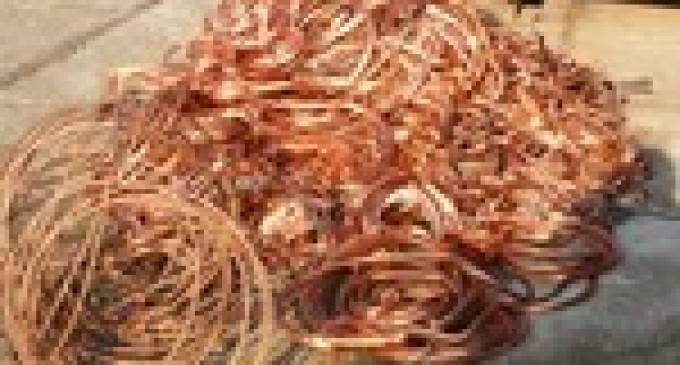 Ancora furti di cavi di rame tra Alcamo e Partinico