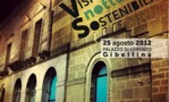 """Gibellina: al via la rassegna """"Visioni notturne sostenibili"""""""