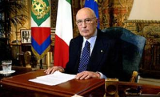 Partanna: riconoscimento dal Presidente della Repubblica Giorgio Napolitano