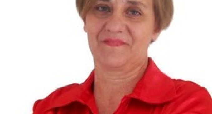 Partanna: comizio d'apertura di Carmelina Atria