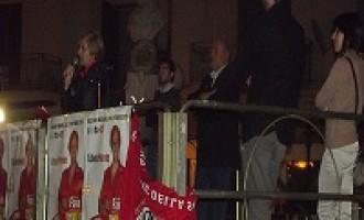 Carmelina Atria ha chiuso la propria campagna elettorale