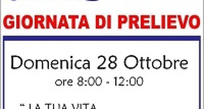 AVIS Partanna: Domenica 28 ottobre Giornata di prelievo