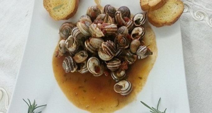 …Le delizie del palato…Lumache in salsa di pomodoro