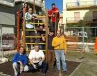 """I volontari di Piazza Umberto I """"donano un nuovo salotto"""" alla città di Partanna"""