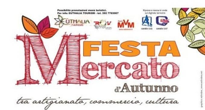 Partanna: Domenica 11 Novembre Festa Mercato d'Autunno- tra Artigianato, Commercio e Cultura