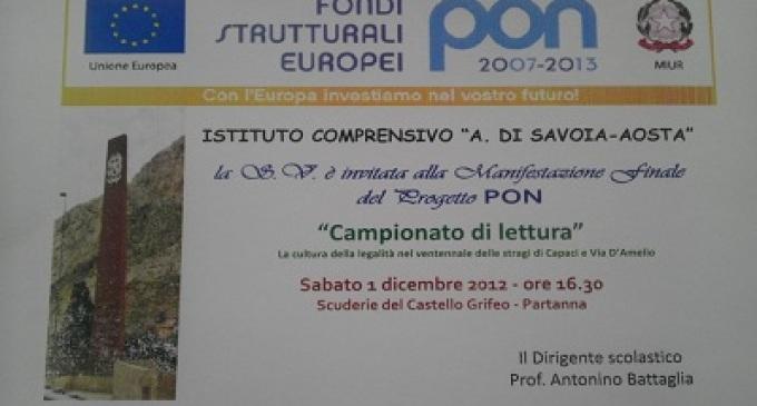 """Prosegue il """"Campionato di Lettura"""" all'Istituto Amedeo di Savoia Aosta"""