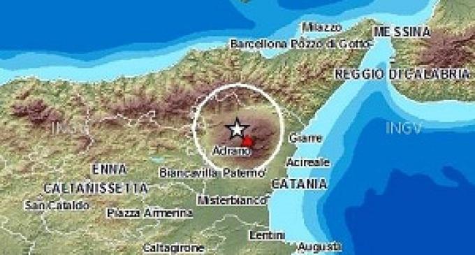 Sciame sismico in corso in Sicilia, forte scossa di terremoto registrata sull'Etna