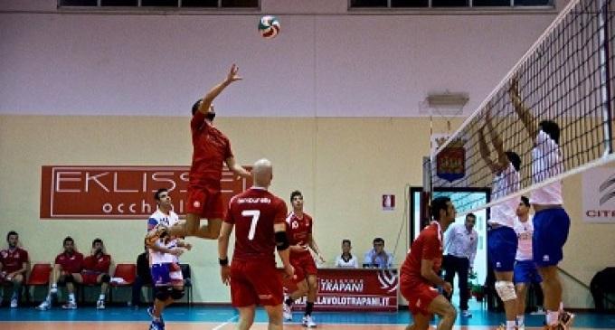 Volley, Serie B2: Trapani canta la nona sinfonia, 3-0 al Vibo Valentia