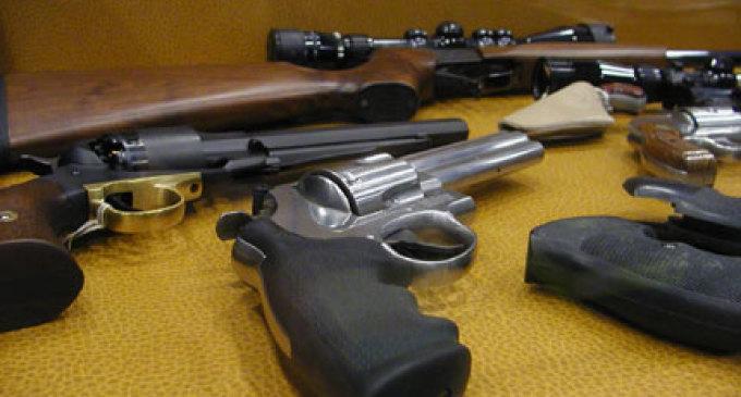 Alcamo, blitz della polizia: scoperto arsenale