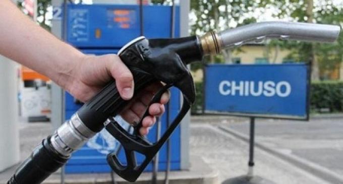 Sciopero dei benzinai per 60 ore in tutta Italia