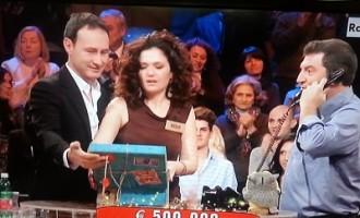 Campobellese vince 500.000 euro ad Affari Tuoi